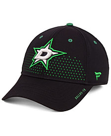 Authentic NHL Headwear Dallas Stars Draft Structured Flex Cap