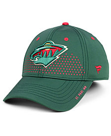 Authentic NHL Headwear Minnesota Wild Draft Structured Flex Cap
