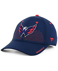 Authentic NHL Headwear Washington Capitals Draft Structured Flex Cap