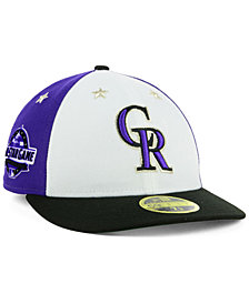 New Era Colorado Rockies All Star Game Patch Low Profile 59FIFTY Fitted Cap 2018