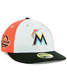 New Era Miami Marlins All Star Game Patch Low Profile 59FIFTY Fitted Cap 2018