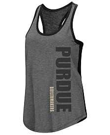 Colosseum Women's Purdue Boilermakers Share It Racerback Tank
