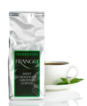Frango Flavored Coffee, 12 oz. Chocolate Mint Flavored Coffee