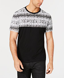 I.N.C. Men's Snakeskin-Print T-Shirt, Created for Macy's