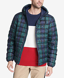 Tommy Hilfiger Men's Color Block Hooded Ski Coat, Created for Macy's