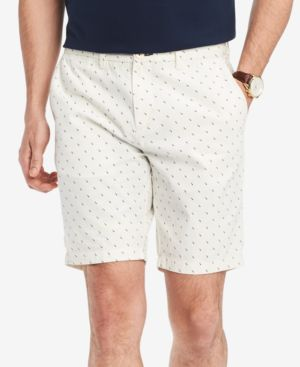 """MEN'S SQUARE GEO 9"""" CLASSIC FIT SHORTS, CREATED FOR MACY'S"""