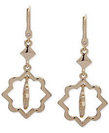 Ivanka Trump Gold-Tone Orbital Drop Earrings