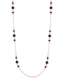 "Ivanka Trump Rose Gold-Tone Stone 42"" Strand Necklace"