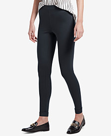 HUE® Fleece-Lined High-Waist Leggings