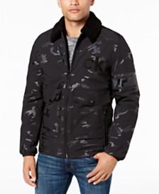Calvin Klein Men's Metallic Windbreaker Coat