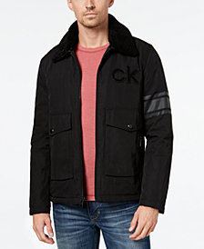 Calvin Klein Men's Metallic Windbreaker