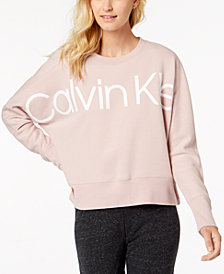 Calvin Klein Performance Logo Relaxed Sweatshirt