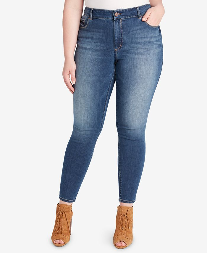 Jessica Simpson - Trendy Plus Size Adored Skinny Jeans
