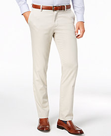 Dockers Slim Signature Lux Cotton Khaki Stretch Pants