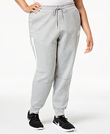 Nike Plus Size Sportswear Tech Fleece Joggers