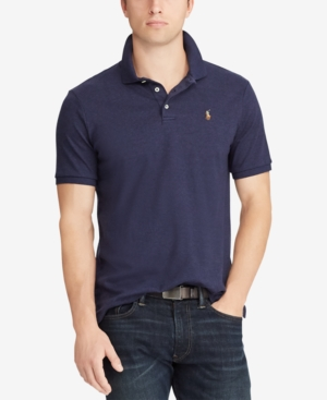 Polo Ralph Lauren MEN'S CUSTOM SLIM FIT SOFT TOUCH POLO SHIRT
