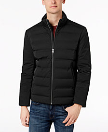 Calvin Klein Men's Slim-Fit Seamless Puffer Coat