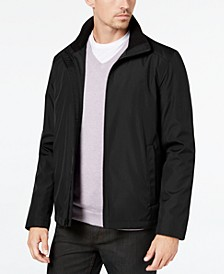 Men's Full-Zip Stand-Collar Lightweight Jacket