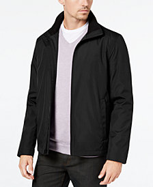 Calvin Klein Men's Full-Zip Stand-Collar Jacket