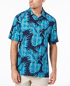 Tommy Bahama Men's Palm Del Plaid Silk Shirt