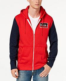 Levi's® Limited: Old School Men's Colorblocked Full Zip Fleece Hoodie, Created for Macy's