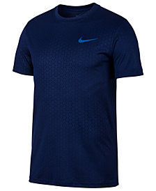 Nike Men's Dry Legend Embossed-Print T-Shirt