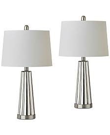 JLA Set of 2 Spirit Table Lamps