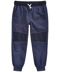 Epic Threads Little Boys Corduroy-Patch Cotton Jogger Pants, Created for Macy's