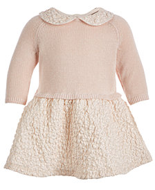 First Impressions Baby Girls 0-3 M Layered Dress, Created for Macy's