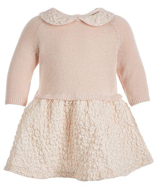 4f3085f65f82 First Impressions Baby Girls 0-3 M Layered Dress