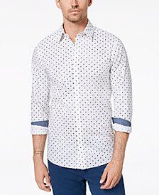 Michael Kors Men's Slim-Fit Geometric Shirt