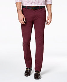Michael Kors Men's Parker Slim-Fit Stretch Pants