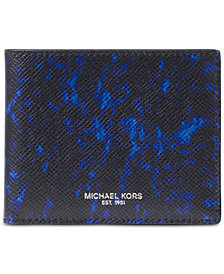 Michael Kors Men's Kent Printed Slim Billfold Wallet