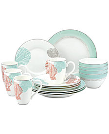 Lenox Sandy Point 16-Pc. Dinnerware Set, Service for 4