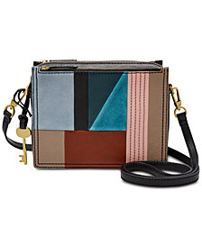 Fossil Campbell Patchwork Crossbody