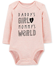 Carter's Baby Girls Cotton Bodysuit