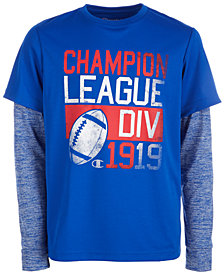 Champion Little Boys League-Print T-Shirt