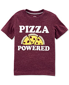 Carter's Toddler Boys Pizza-Print T-Shirt