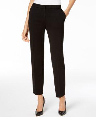 Straight-Leg Pants, Regular & Petite Sizes