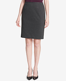 Calvin Klein High-Waist Pencil Skirt