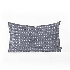 Deny Designs Holli Zollinger BOGO DENIM RAIN LIGHT Oblong Throw Pillow