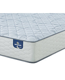 "Serta Sertapedic 12.25"" Cassaway Firm California King Mattress with Adjustable Base"