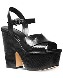 MICHAEL Michael Kors Divia Wedge Sandals