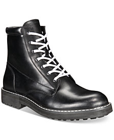 I.N.C. Men's Ivan Lace-Up Boots, Created for Macy's