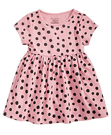 First Impressions Toddler Girls Dot-Print Cotton Tunic, Created for Macy's