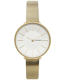 Women's Karolina Gold-Tone Stainless Steel Mesh Bracelet Watch 38mm