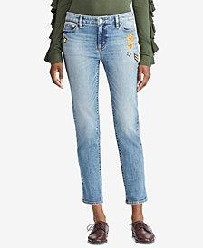 Lauren Ralph Lauren Petite Premier Estate Crop Jeans