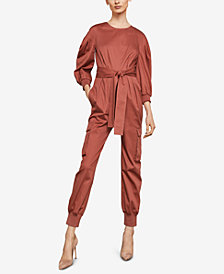 BCBGMAXAZRIA Pleated Jumpsuit