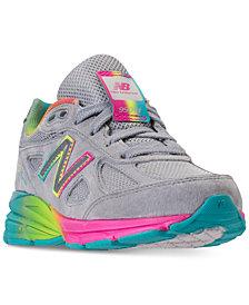 New Balance Girls' 990 V4 Running Sneakers from Finish Line