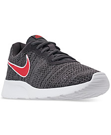Nike Men's Tanjun Premium Casual Sneakers from Finish Line